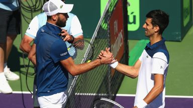 Paire v Djokovic: Highlights