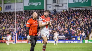 Walmsley suffers injury blow
