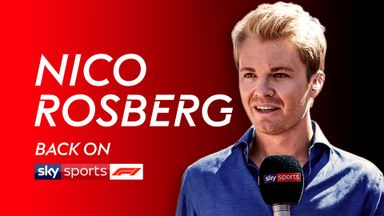 Nico Rosberg joins the Sky F1 team
