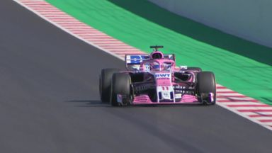 F1 Testing: Track action