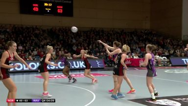 Northumbria v Mavericks: Highlights