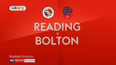 Reading 1-1 Bolton