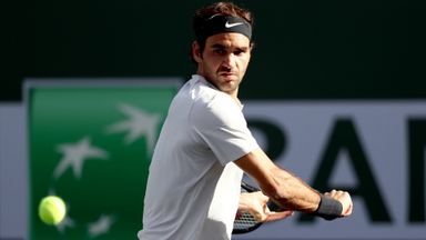 Federer v Chardy: Highlights