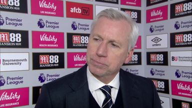 Pardew: Hard defeat to take