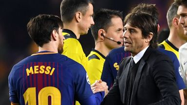 Conte: Messi best in the world