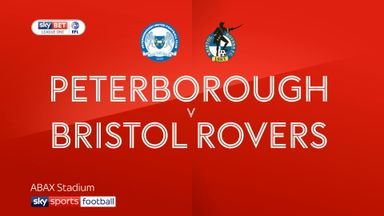 Peterborough 1-1 Bristol Rovers