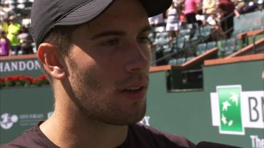 Tough win for Coric