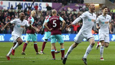 Swansea 4-1 West Ham