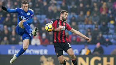 Leicester 1-1 Bournemouth