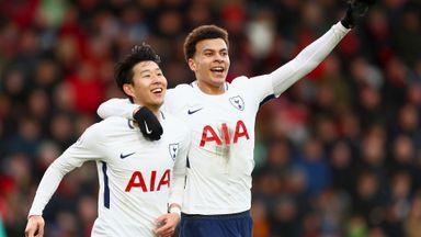 Bournemouth 1-4 Tottenham
