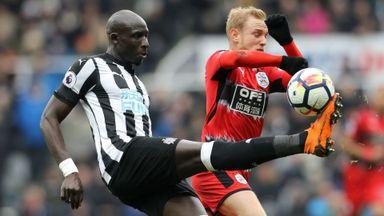 Newcastle 1-0 Huddersfield