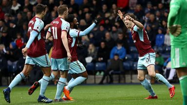 West Brom 1-2 Burnley