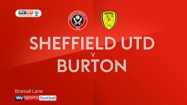 Sheff Utd 2-0 Burton