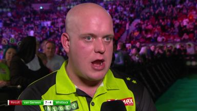 Van Gerwen: I'm not at my best