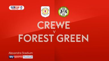 Crewe 3-1 Forest Green