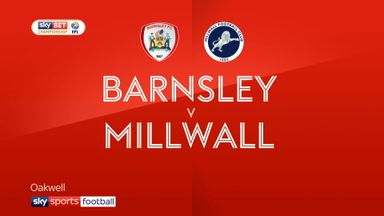 Barnsley 0-2 Millwall
