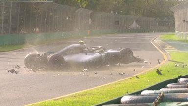 Bottas' Q3 crash
