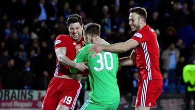 Aberdeen beat Kilmarnock on pens