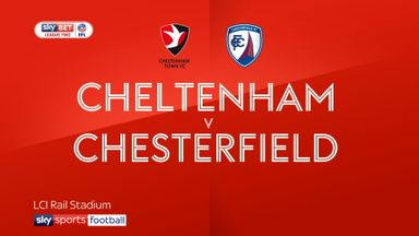 Cheltenham 1-1 Chesterfield