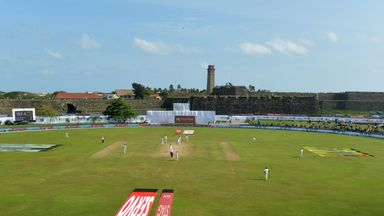 Pitch doctoring allegations in Galle