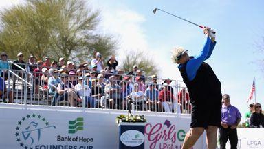 Davies shares second in Arizona
