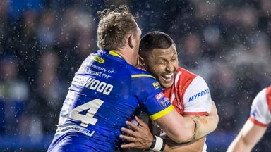 Warrington 12-30 St Helens