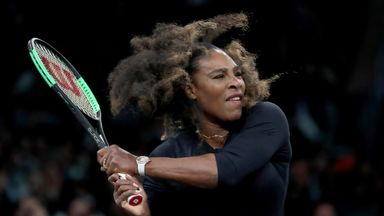 Serena enjoys return to WTA tour