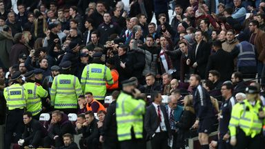 West Ham fans divided amid 'crisis'
