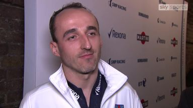 Kubica's emotional F1 return