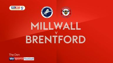 Millwall 1-0 Brentford