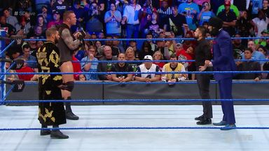 Orton, Roode & Mahal face off