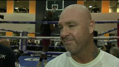 Browne predicting a knockout