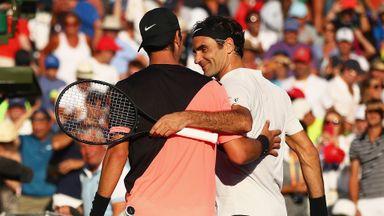 Federer v Kokkinakis: Highlights