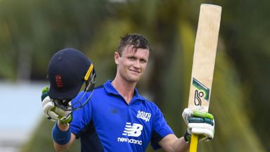 Gubbins 'feeling good' after second ton