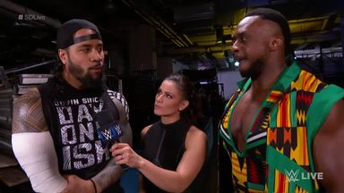 Big E & Jimmy Uso ready for Bludgeon Brothers