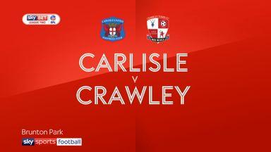 Carlisle 2-2 Crawley
