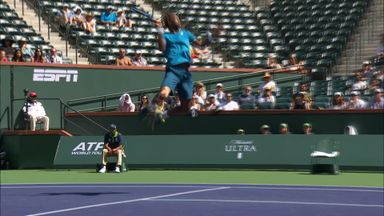Monfils' huge airtime