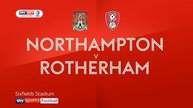 Northampton 0-3 Rotherham