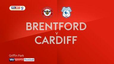 Brentford 1-3 Cardiff