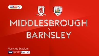 Middlesbrough 3-1 Barnsley