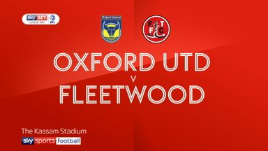 Oxford 0-1 Fleetwood