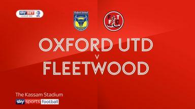 Oxford 0-1 Fleetwood