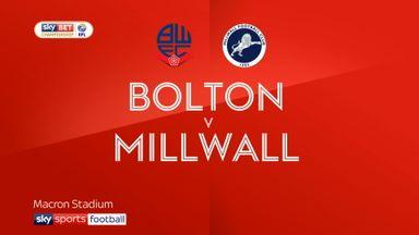 Bolton 0-2 Millwall