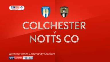 Colchester 1-3 Notts County