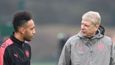Aubameyang addresses Wenger criticism