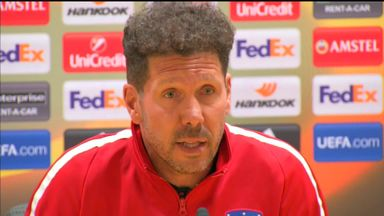 Simeone: No talks with Arsenal
