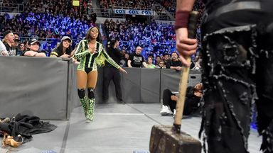 Naomi saves The Usos