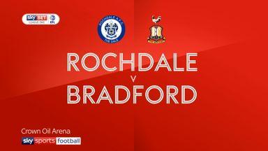 Rochdale 1-1 Bradford
