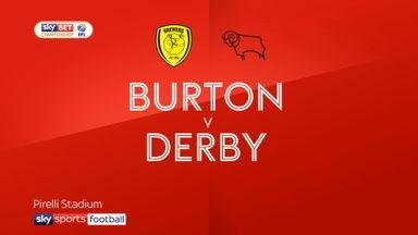Burton 3-1 Derby