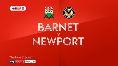 Barnet 2-0 Newport